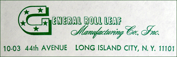General Roll Leaf logo of 1955